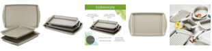 Rachael Ray Nonstick Bakeware 3-Pc. Cookie Pan Set, Silver