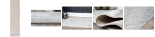 """Bridgeport Home Caan Can7 Gray 2' 7"""" x 10' Runner Area Rug"""