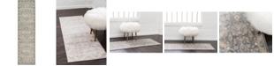 """Bridgeport Home Bellmere Bel6 Gray 2' 7"""" x 10' Runner Area Rug"""