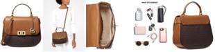 Michael Kors Karson Signature Saddle Bag