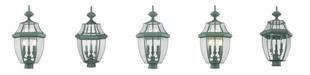 Livex Monterey 3-Light Outdoor Post Lantern