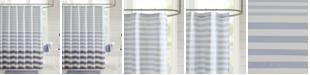 "Madison Park Aviana Stripe 72"" x 72"" Shower Curtain"