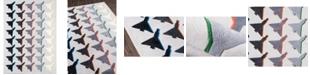 "Novogratz Collection Novogratz Lulu Lul-2 Gray 3'6"" x 5'6"" Area Rug"
