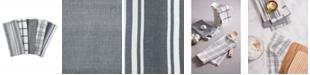 Design Imports Assorted Woven Dishtowels, Set of 5