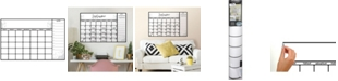 York Wallcoverings Scroll Dry Erase Calendar Peel and Stick Wall Decals