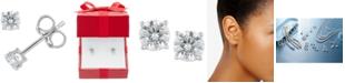 Macy's Certified Diamond Stud Earrings (5/8 ct. t.w.) in 14k Gold or White Gold