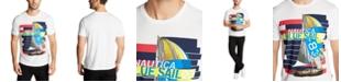 Nautica Men's Blue Sail Boat T-Shirt, Created for Macy's
