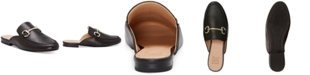 INC International Concepts I.N.C. Women's Gilia Buckle Mules, Created for Macy's