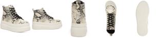 Madden Girl Chuckle Platform High-Top Sneakers