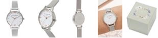 Olivia Burton Women's Stainless Steel Mesh Bracelet Watch 30mm