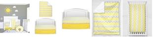 Pam Grace Creations Chevron 3 Piece Crib Bedding Set