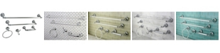 Kingston Brass Naples 18-Inch and 24-Inch Towel Bar Bathroom Accessory Set in Polished Chrome