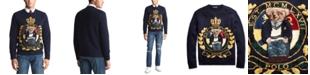 Polo Ralph Lauren Men's Royal Bear Wool Blend Sweater