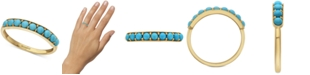 EFFY Collection EFFY® Turquoise Band in 14k Gold