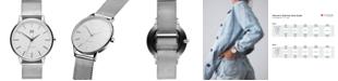 MVMT Women's Boulevard Venic Stainless Steel Mesh Bracelet Watch 38mm