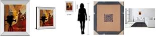 """Classy Art Red Carpet Awards by Conrad Knutsen Mirror Framed Print Wall Art, 22"""" x 26"""""""