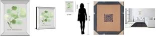"Classy Art Pilea Peperomioides by Katrien Soeffers Mirror Framed Print Wall Art, 22"" x 26"""