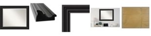 """Amanti Art Colonial Framed Bathroom Vanity Wall Mirror, 33.75"""" x 27.75"""""""