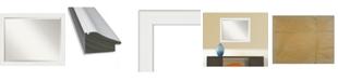 "Amanti Art Vanity Framed Bathroom Vanity Wall Mirror, 31.38"" x 25.38"""