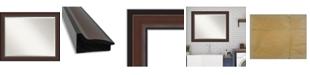 """Amanti Art Harvard Framed Bathroom Vanity Wall Mirror, 32.5"""" x 26.50"""""""