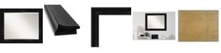 "Amanti Art Grand Framed Bathroom Vanity Wall Mirror, 33.75"" x 27.75"""