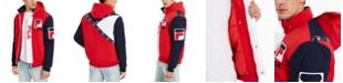 Fila Men's P1 Fila Tech Logo Hooded Jacket