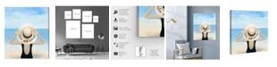 "Oliver Gal Relax Unwind Canvas Art, 30"" x 36"""
