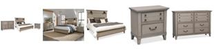 Furniture Sausalito Bedroom Furniture, 3-Pc. Set (Queen Bed, Nightstand & Dresser)