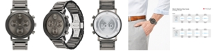 Movado Men's Swiss Chronograph Bold Evolution Gray Ion-Plated Steel Bracelet Watch 42mm, First at Macy's