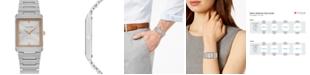 Citizen Eco-Drive Unisex Stiletto Stainless Steel Bracelet Watch 25x35mm