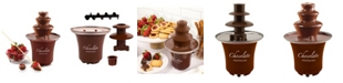 Nostalgia CFF3BR Three Tier Chocolate Fondue Fountain