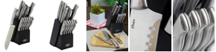 Oster Baldivia 13 Piece Cutlery Set with Rubber-Wood Block