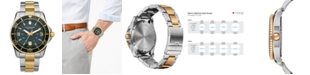 Victorinox Swiss Army Watch, Men's Maverick GS Two-Tone Stainless Steel Bracelet 43mm 241605