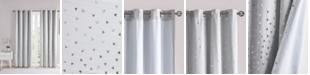"Intelligent Design Zoey 50"" x 84"" Printed Metallic Blackout Curtain Panel"