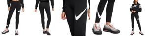 Nike Women's Sportswear Leg-A-See Logo Leggings