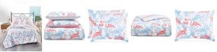 Martha Stewart Collection Flamingo Lagoon Bedding Collection, Created for Macy's
