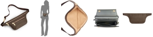 Michael Kors Double-Zip Signature Belt Bag