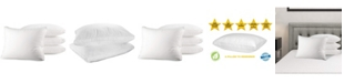 Mastertex Bed Pillow, King - 4 Pieces