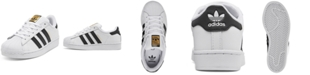 adidas Little Boys Superstar Casual Sneakers from Finish Line