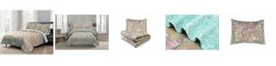 Pieridae 3 Piece Soft and Lightweight Microfiber Full/Queen Quilt Set