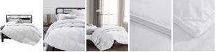 UNIKOME Heavyweight White Goose Blend Comforter, Full/Queen Size