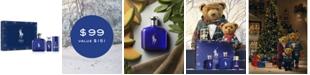 Ralph Lauren Men's 3-Pc. Polo Blue Eau de Toilette Gift Set