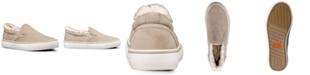 Lugz Women's Clipper LX Fur Classic Slip-On Fashion Sneaker