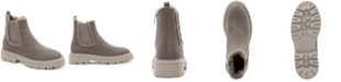 STEVEN NEW YORK Avana Faux-Fur Lug Booties