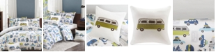 INK+IVY Road Trip Reversible 3-Pc. Twin Comforter Set