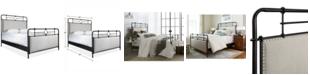 Furniture Portos Metal Queen Bed