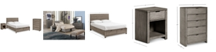 Furniture Tribeca Storage Bedroom Furniture, 3-Pc. Set (California King Bed, Chest & Nightstand), Created for Macy's