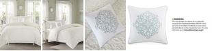 Madison Park Sabrina 4-Pc. Tufted Cotton Chenille Full/Queen Comforter Set