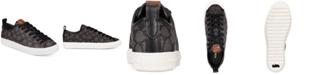 COACH Women's Jacquard Signature Fashion Sneakers