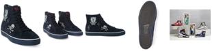 Polo Ralph Lauren Men's Solomon Embroidered Downhill Skier Suede Sneakers